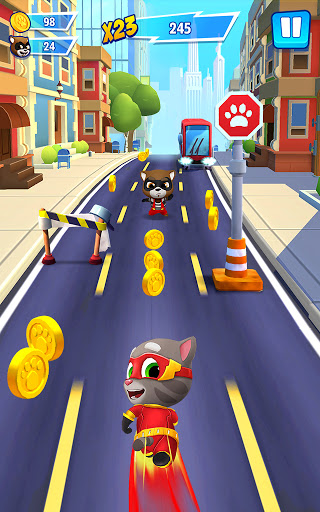 Talking Tom Hero Dash - Run Game 2.2.1.1300 screenshots 16