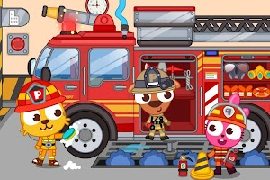 Papo Town Fire Department