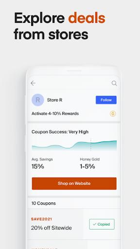 Honey Smart Shopping Assistant  Screenshots 4