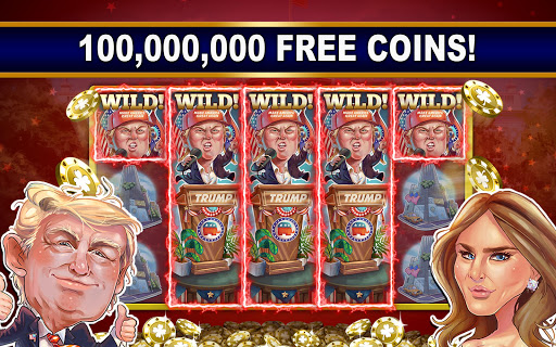 President Trump Free Slot Machines with Bonus App