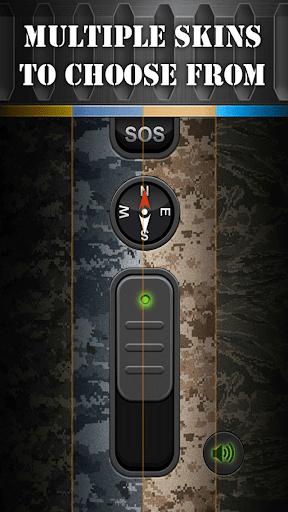 Military Flashlight Free android2mod screenshots 12