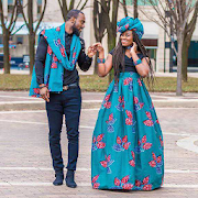 African Couple Fashion 2021