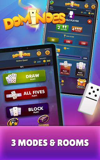 Dominoes - Offline Free Dominos Game apktram screenshots 9