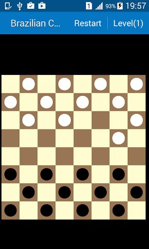 Brazilian checkers / draughts 1.34 screenshots 1