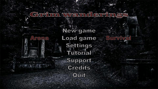 Grim wanderings 1.21 Download APK Mod 1