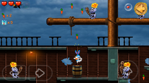 Beeny Rabbit Adventure Platformer World 2.9.1 screenshots 6