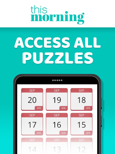 This Morning ud83cudf1e Puzzle Time ud83dudcc6 Daily Puzzles 4.3 screenshots 11