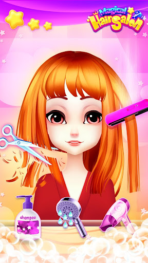Magical Hair Salon: Girl Makeover 1.1.7 Screenshots 4