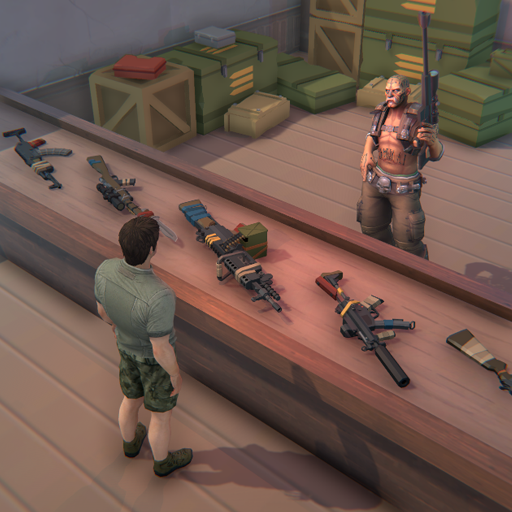 Zombie Shop  Make amp Sell Weapons In Zombie World