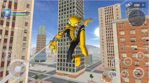 Spider Stickman Rope: Vegas Crime City Hero 1.0.25 screenshots 5