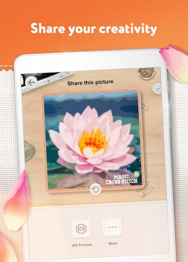Magic Cross Stitch: Color Pixel Art 2.9.1 screenshots 21