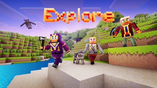 Block World 3D: Exploration & Survival  screenshots 1