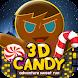 3D Candy Man World Run