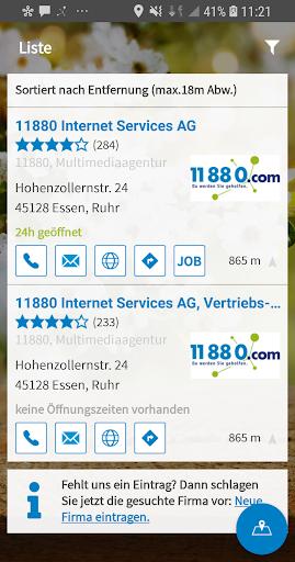 11880.com - Telefonbuch & Anruferkennung  screenshots 2