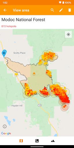 Wildfire Map, Tracker, Info + Alerts screenshot 6