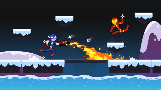 Spider Stickman Fighting - Supreme Warriors screenshots 7