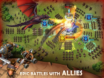 Blaze of Battle Screenshot