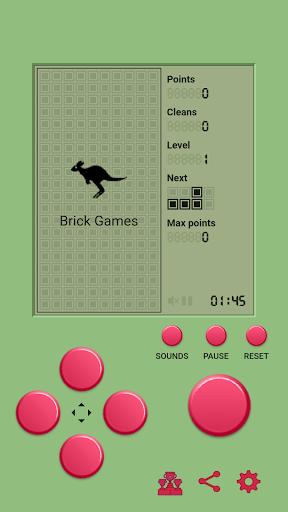 Classic Brick Games screenshots 2
