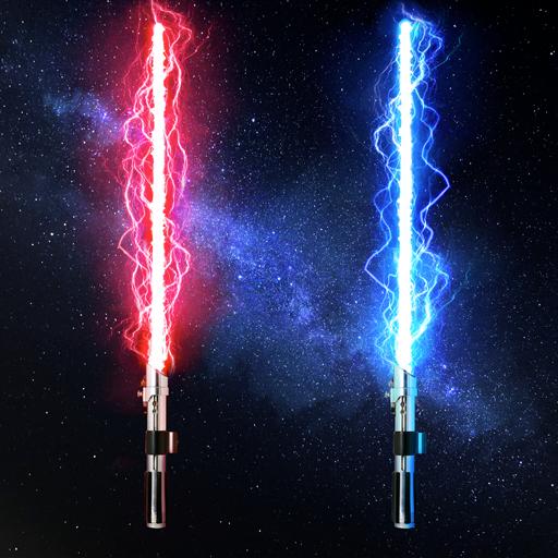 Space Force:Lichtschwert-Spiel