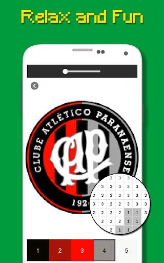 Logotipo Do Futebol Brasileiro Cor Por Nu00famero 9.0 screenshots 5
