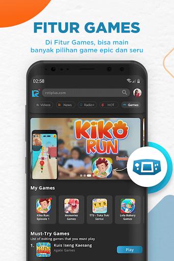 RCTI+ | Video, News, Radio, Talent Search & Games  Screenshots 5