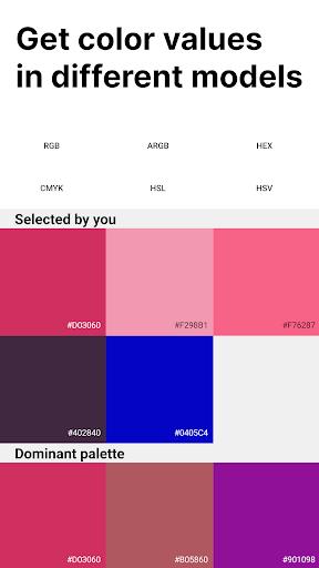 Palette Pantone ud83dudcf7 Add color palettes to photos 2.01 Screenshots 4