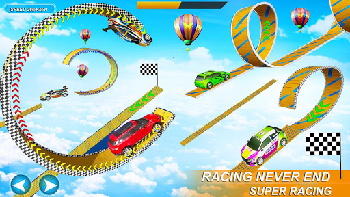 Impossible Stunt Space Car Racing 2019 apktram screenshots 4