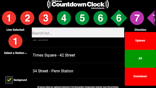 NY Subway Countdown Clock For Pc | How To Download  (Windows/mac) 2