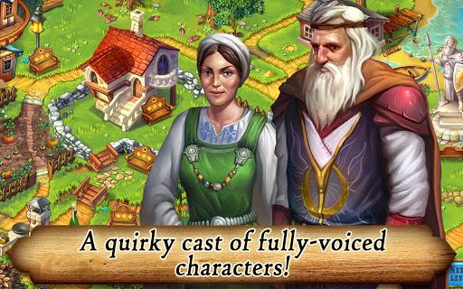 Runefall - Medieval Match 3 Adventure Quest screenshots 16