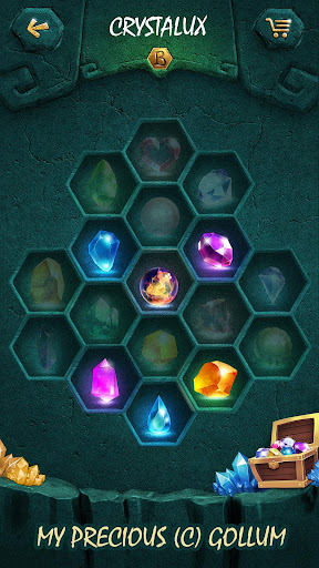 Crystalux. New Discovery - logic puzzle game  screenshots 3