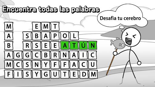 Aplasta Palabrasuff1aJuego de Palabras Gratis sin wifi 2.0501 screenshots 7
