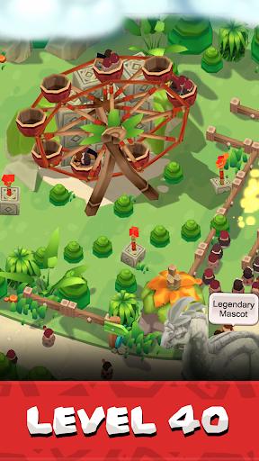 Stone Park: Prehistoric Tycoon - Idle Game  screenshots 5