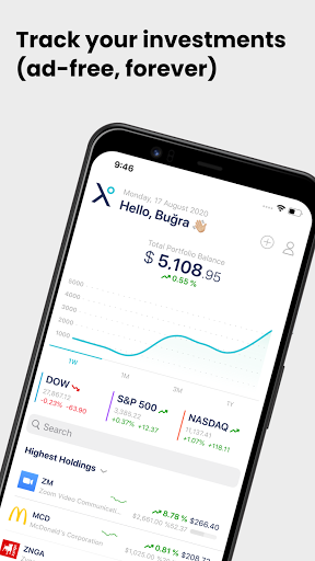 Foto do Stox - Stock and Crypto Portfolio Tracker & Widget