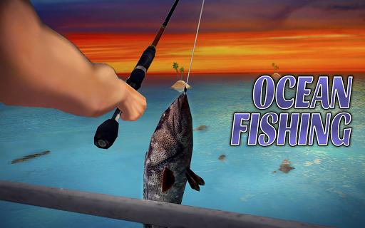 Code Triche simulateur de pêche océanique APK Mod screenshots 1
