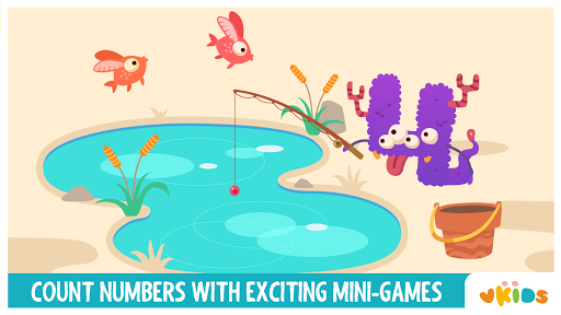Vkids Numbers - Counting Games For Kids 3.2 screenshots 2