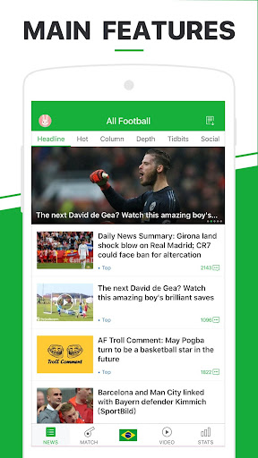 All Football Pro - Latest News & Videos 3.1.6 pro Screenshots 1