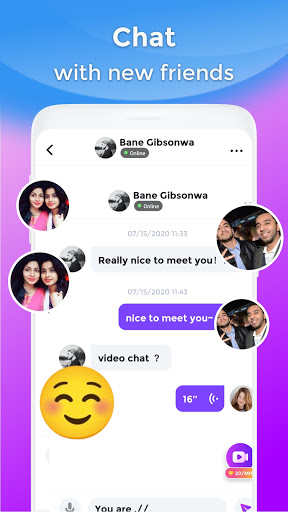 BoloJi - Video Call, Live Chat & Online Video Chat android2mod screenshots 4