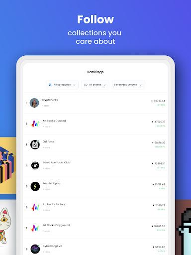 OpenSea: NFT marketplace screenshots 7