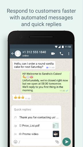 WhatsApp Business Apkfinish screenshots 2