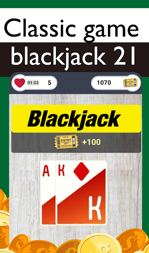 Blackjack 21 Giveaways: Free gift, Poker Card Game 1.537 screenshots 3