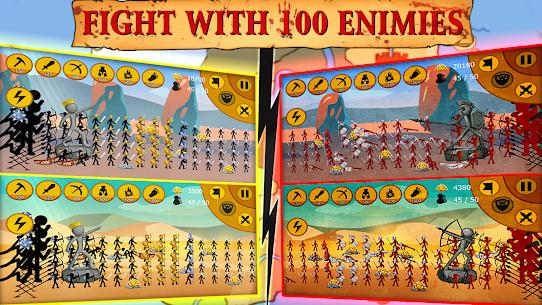 Stickman Battle 2020: Stick Fight War APK MOD HACK (Dinero Infinito) 5
