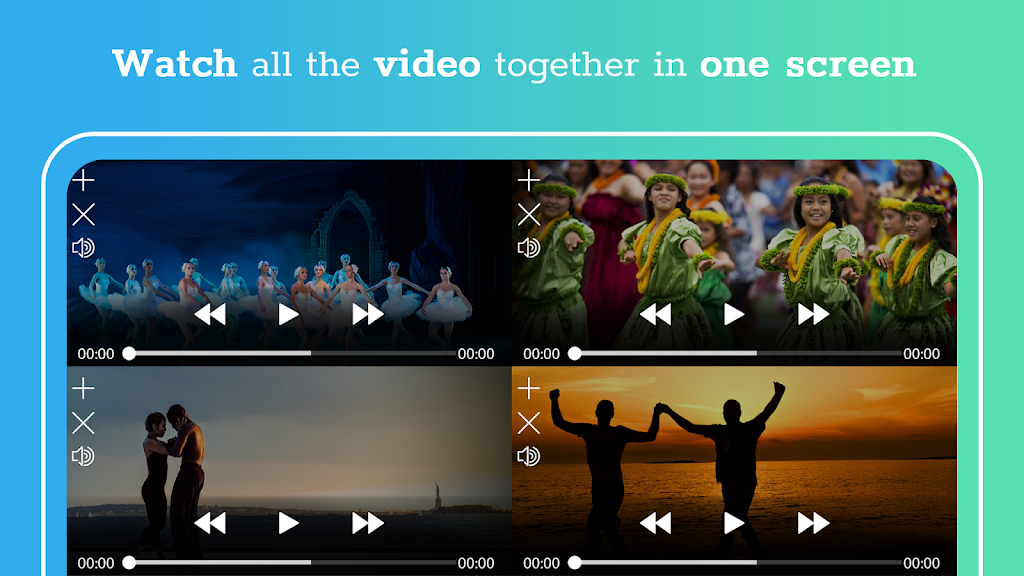 Multi Screen Video Player  poster 2