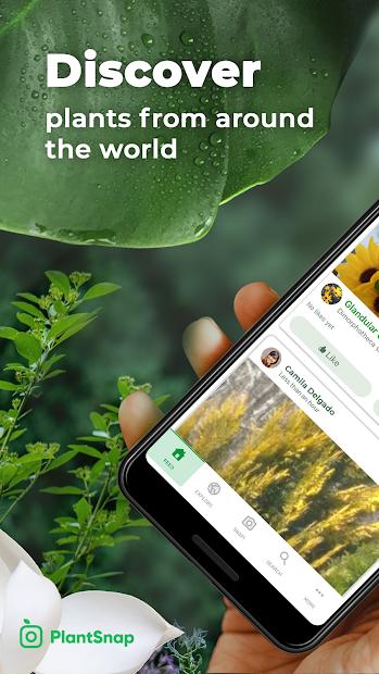 PlantSnap - FREE plant identifier app Android App Screenshot