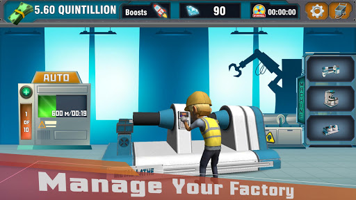 Factory Tycoon : Idle Clicker Game  screenshots 8