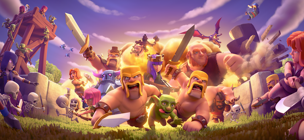 Clash of Clans  poster 8