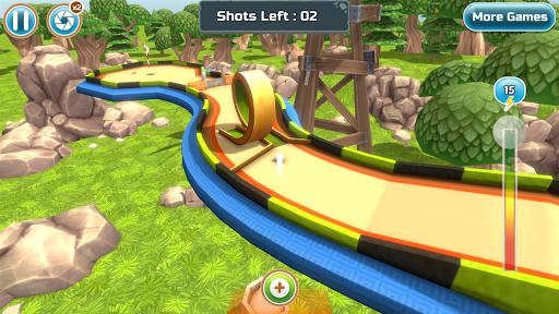 Mini Golf Rivals - Cartoon Forest Golf Stars Clash  screenshots 3