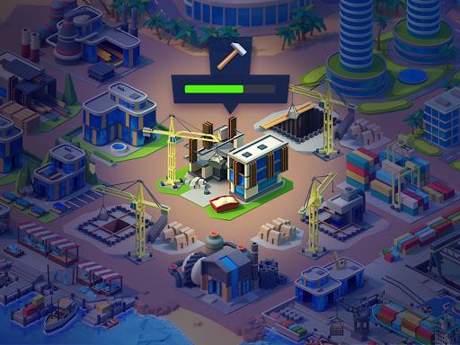 Sea Port: Cargo Ship & Town Build Tycoon Strategy 1.0.153 screenshots 13