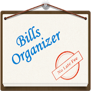 Bills Organizer with Sync  - Remind on Time  Icon