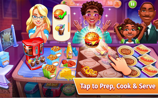 Cooking Craze: The Worldwide Kitchen Cooking Game 1.69.1 screenshots 1