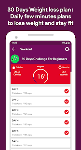 Home Workout - Weight loss in 30 days No equipment
